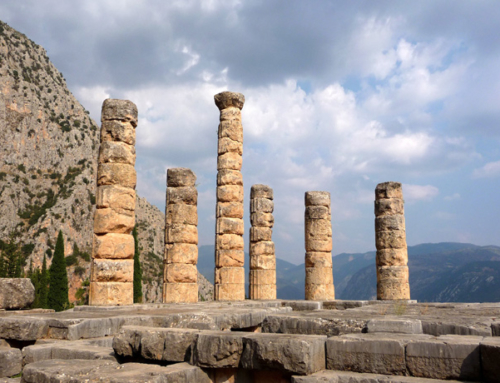 Delphi is a Memorial of Umfalo on Earth